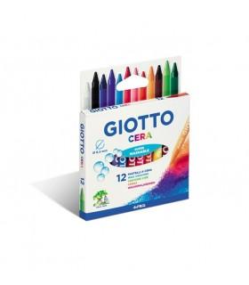 Pastelli a cera Giotto da 12 pz.