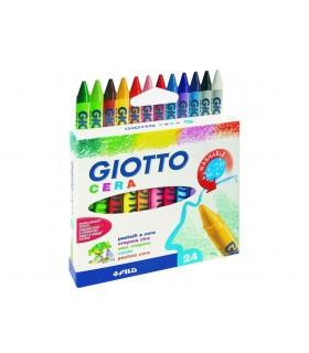 Pastelli a cera Giotto da 24 pz.