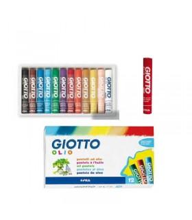 Pastelli ad olio Giotto da 12 pz.