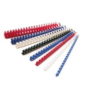 Spirali per Rilegatura 6mm conf. 100 pz. colore Bianco