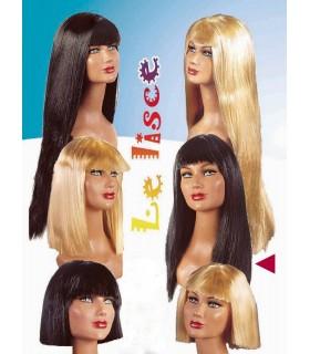 Parrucca Liscia Media assortita in 2 colori