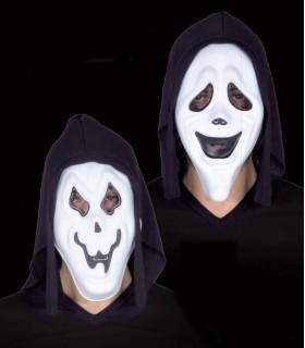 Maschera Grido in Eva con Cappuiccio Disponibile in 2 Modelli