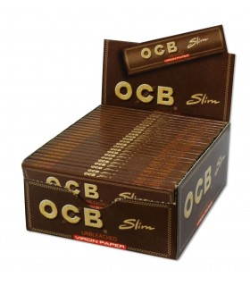 Cartina OCB  Slim Lunga Brown conf. 50 pz.