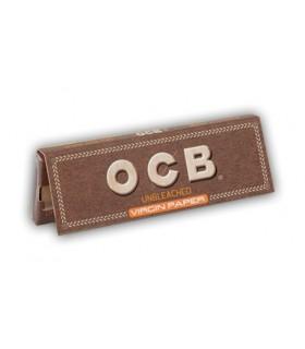 Cartina OCB corta Virgin Brown conf. 50 libretti da 50 cartine