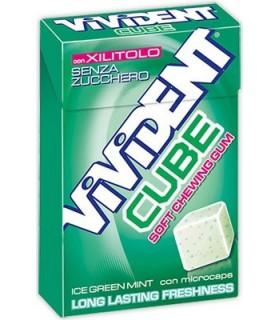 VIvident Cube Green Senza Zucchero ASTUCCIO conf. da 20 PZ.