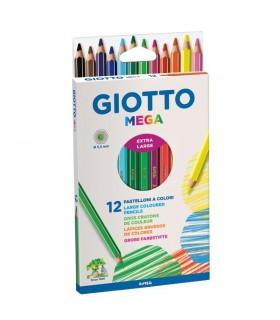Pastelli Giotto Mega da 12 pz.