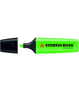 Evidenziatore Stabilo Boss colore verde conf. da 10 pz.