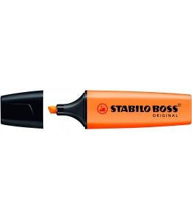 Evidenziatore Stabilo Boss colore arancio conf. da 10 pz.
