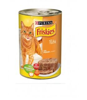 Purina Friskies per Gatti Patè Pollo e Verdura Lattina da 400 gr