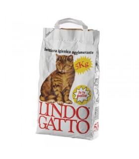 Lettiera Lindo per gatto Antibatterica 5 kg