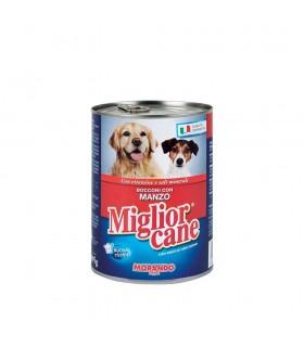 Miglior Cane Bocconi con Manzo Lattina 405 gr