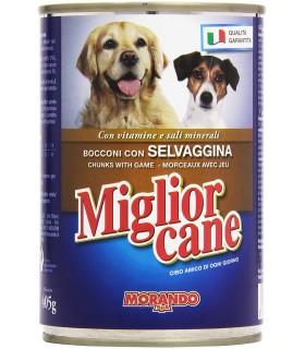 Miglior Cane Bocconi con Selvaggina Lattina 405 gr