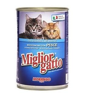 Bocconcini Miglior Gatto con Pesce Lattina 405 gr
