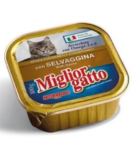 Miglior Gatto Patè con Selvaggina Vaschetta 100 gr