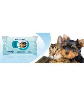 Salviette Detergenti Speedy care per Pelo e Zampe per Cani e Gatti 36 pz