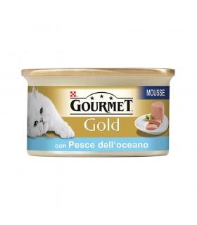 Gourmet Gold per Gatti Mousse Pesce 90 g