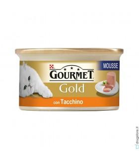 Gourmet Gold per Gatti Mousse Tacchino 90 g