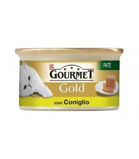 Gourmet Gold per Gatti Pate' Coniglio 90 g