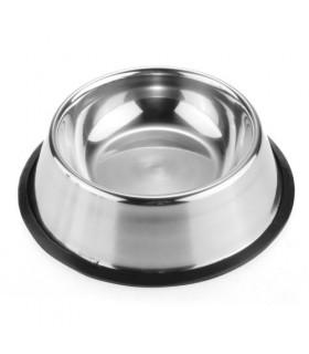 Ciotola Inox Vitakraft con antiscivolo Diam.17 cm per Cani
