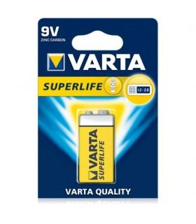 Pila Varta 9V Superlife Zinco Carbone conf. da 10 blister