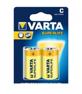Pila Varta Torcia D Superlife Zinco Carbone conf. da 12 blister