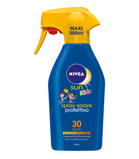 Spray Solare Nivea Kids Sun Protettivo da 300 ml FP 30 +