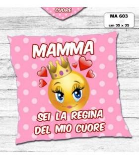 Cuscino Mamma cm.35x35 colore rosa