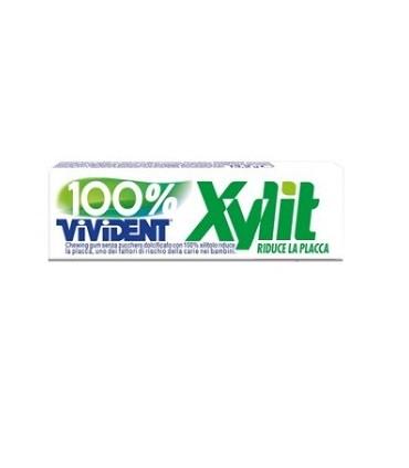 VIVIDENT XYLIT 100% SENZA ZUCCHERO STICK CONF. DA 40 PZ.