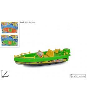 Barca con Motore Disponibile in 2 colori