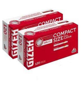 Tubi Vuoti Gizeh Compact da 120 conf. 5 pz.