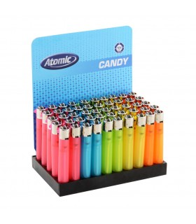 Accendino Atomic Candy conf. 50 pz. colori assortiti