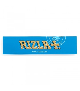 Cartina Rizla lunga ks Blu Slim conf. 50 libretti da 32 cartine