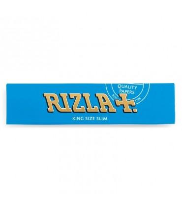 Cartina Rizla lunga ks Blu Slim conf. 50 libretti da 32 cartine