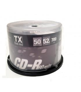 CD-R 80 min Campana da 50 pz.