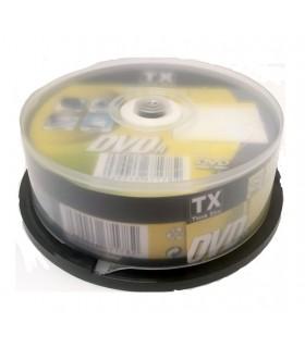 DVD-R 4.7 GB  Campana da 25 pz.