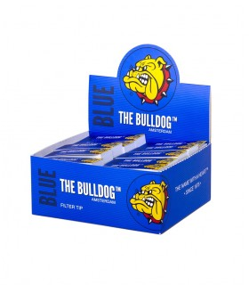 Filtri Cartoncino Blue THE BULLDOG conf. 50 pz.