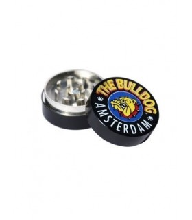 Grinder in Metallo Black THE BULLDOG 2 Parti