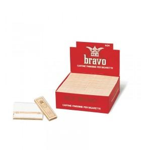 Cartina Rex  Bravo corta conf. 100 libretti da 40 cartine