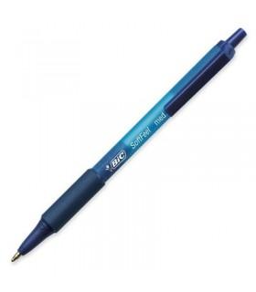 Penna Bic Soft colore blu