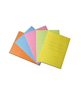Cartelline zaffiro a tre lembi  Blasetti conf. da 50 pz. in 5 colori assortiti