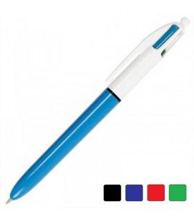 Penna Bic 4 colori (nero-blu-rosso-verde)
