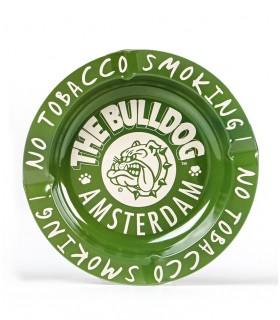 Posacenere THE BULLDOG in Alluminio colore Verde