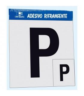 P per Patente  Letterfix in adesivo rifrangente