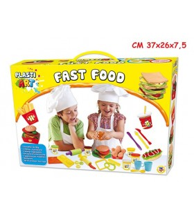 Pasta Modellabile Fast Food con Accessori
