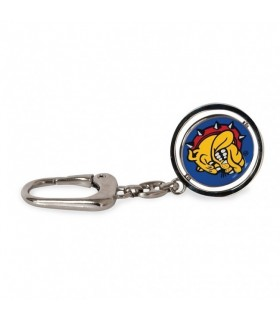 Portachiavi Con Placca Girevole THE BULLDOG