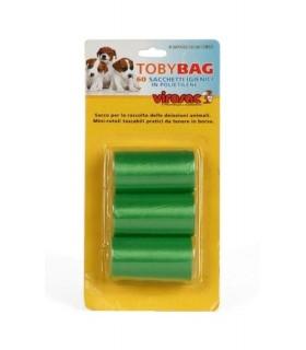 Virosac Toy Bag 3 rotoli con 20 Sacchetti igienici