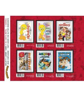 Biglietto Marpimar Looney Tunes con Glitter conf. 12 pz. assortiti
