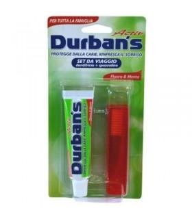 Durban's Kit da Viaggio Dentifricio 25 ml e Spazzolino