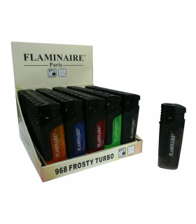 Accendino Flaminaire  Turbo Frosty conf. 50 pz. assortiti