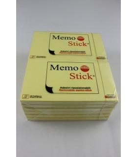 Memo Stick colore giallo 75mm x 127mm conf. 12 pz.
